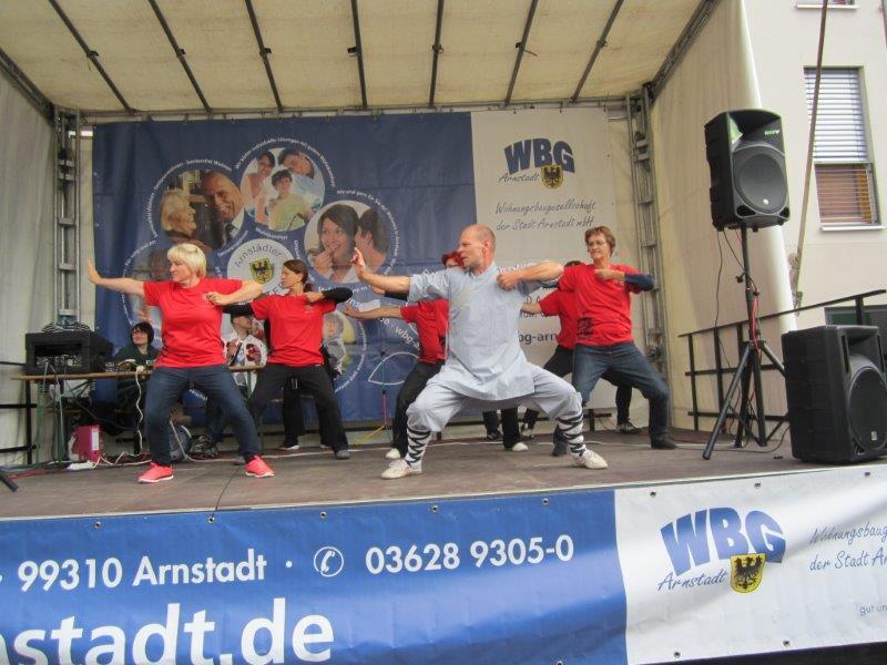 Vorführung Stadtfest 2015